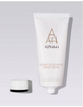 Liquid Gold rose hand cream